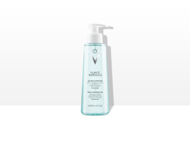 Sveži   gel za čiščenje občutljive kože obraza