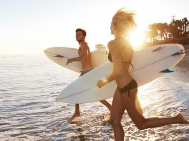 Zaščita pred soncem za tiste, ki se počutite kot ribe v vodi!