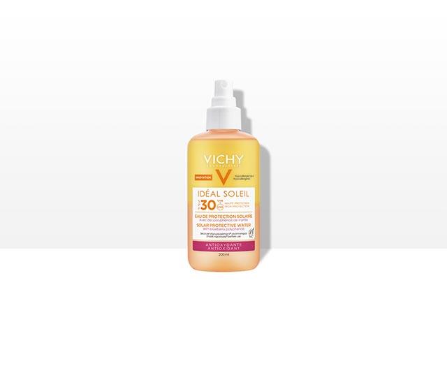 Voda za zaščito pred soncem SPF 30 – Antioksidant