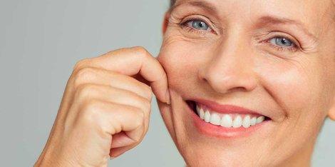 Srbenje, suha koža ... Kako se moja koža spremeni med menopavzo?